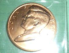 "J.F.Kennedy Inauguration Jan. 20, 1961 Medal Token Copper 1 3/8"""