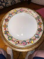 "Mary Engelbreit 12.5"" Large Serving Plate - Garden Time Design Sakura Rare -1994"