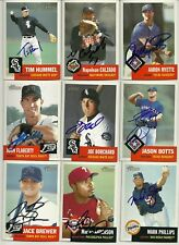 2002 Topps Heritage JASON BOTTS Signed Card autograph RANGERS PASO ROBLES, CA