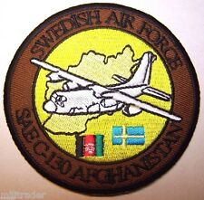 Sweden Swedish Air Force SAE C-130 Afghanistan Patch