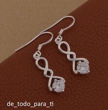 fd802d83c63b Pendientes de joyería de metales preciosos sin piedras plata ...