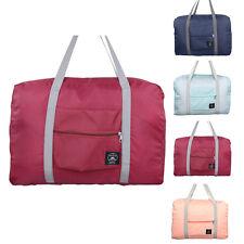 Hot Travel Carrying Large Foldable Bag Luggage Suitcase Clothes Shoes Storage AU