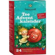 Tee Adventkalender Adventskalender bio (14,48 per 100g) Sonnentor Aufgußbeutel