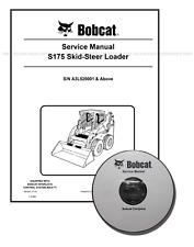 Bobcat S175 Skid Steer Loader Workshop Service Manual CD + Download 6987035