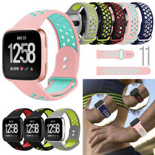Hot Soft Silicone Bracelet Sport Watch Band Strap for Fitbit Versa 2 Smart Watch