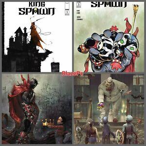 King Spawn #3 Cover A B C D Variant Set Options McFarlane Image Presale 10/20