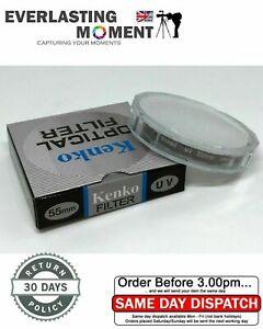 Kenko 55mm UV Filter Lens for Pentax Canon Nikon Olympus All 55mm lens