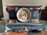 ANTIQUE 1880 SETH THOMAS  Mantle Clock  For Parts