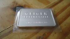 Geiger Silberbarren, 1 oz., Feinheit: 999, Schloß Güldengossa