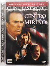 Dvd Nel centro del mirino - Collector's edition Super Jewel box 1993 Usato