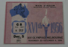 Ticket collectors Olympic Melbourne 1956 Football  Soviet Union Russia Bulgaria