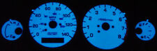 Free Ship 91-93 GMC Typhoon / Syclone White Face Glow Gauges Face Overlay New