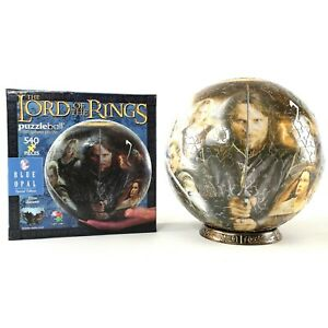 The Lord of the Rings Puzzle Ball 3D Sphere by Blue Opal 540pcs - 100% Complete