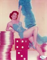 Cyd Charisse Signed 8x10 JSA COA Autograph Photo Singin In The Rain Fred Astaire