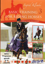 NEW DVD TRAINING FOR RIDING HORSES vol 3 Ingrid Klimke
