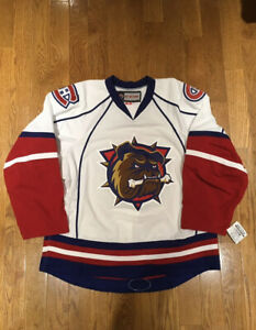 Team Issued Hamilton Bulldogs Authentic CCM Hockey Jersey