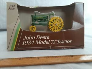 Mint Condition John Deere 1934 Model A Tractor