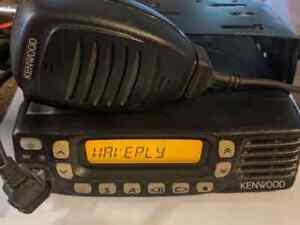Kenwood TK-8360HU UHF Analog 2-way radios.