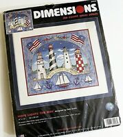 Dimensions Cross Stitch Kit No Count Hope Lights the Way 39023 Lighthouses NWT