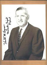 "Harold Agnew ""Manhattan Project"" Autographed 8x10 Photo Autograph Enola Gay"