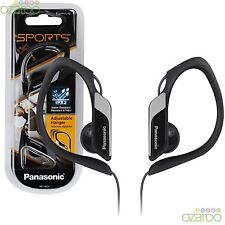 Panasonic In-Ear Clip type Sports Gym confort résistant à l'eau casque - Noir