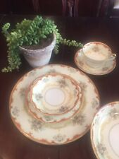 "Noritake China ""Fiesta"" Pattern Dinnerware Set 49 Pc Many Rare Serving Pieces!"