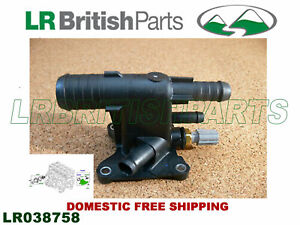 LAND ROVER THERMOSTAT WATER OUTLET CONNECTOR LR2 EVOQUE DISCOVERY SPORT LR038758