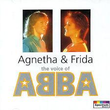 AGNETHA & FRIDA The Voice Of Abba CD NEW Agnetha Faltskog Anna-Frid Lyngstad
