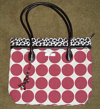 isabella's Journey Leopardo & lunares MEDIANO alfombra bolsa