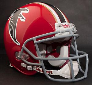 MATT RYAN Edition ATLANTA FALCONS Riddell THROWBACK Football Helmet NFL