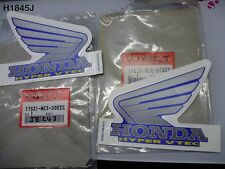 HONDA CB 400 HYPER V TEC ALL YEAR FUEL TANK DECAL 17521-MCE-300ZC NEW OS  H1845J
