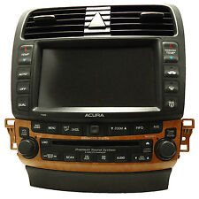 ACURA TSX Navigation GPS System Radio 6 Disc Changer CD Player Display 7GB0 OEM