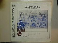 DEEP PURPLE:Live In London-U.S.LP Zeanonym Plattenspieler ZAP 7859 w/Insert PCV