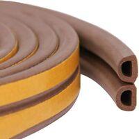 10 M Door & Window Sealing Strips Self-adhesive Anti-collision Rubber Windtight