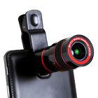 8x Zoom Telescope Lens Clip On Binocular Photography For Phone SmartPhone iPhone