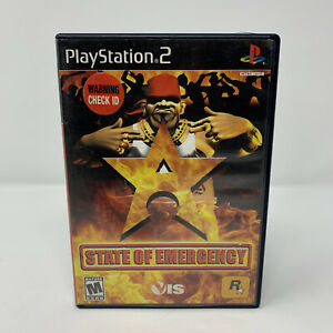 State of Emergency Sony PlayStation 2 PS2 Game No Manual Tested