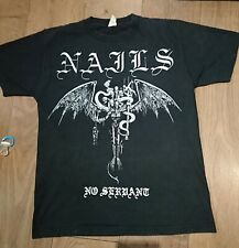 Nails T Shirt Hxc Converge Entombed Morbid Angel Metallica Cannibal Corpse...