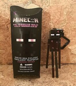 Minecon 2016 Exclusive Translucent Teleporting Enderman Hanger NEW