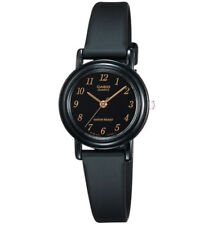 Casio LQ139A-1, Classic Black Analog Watch, Black Resin Band