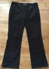 CHICO'S Women's Platinum Black Stretch Denim Jeans Size 1..5 / Medium Short