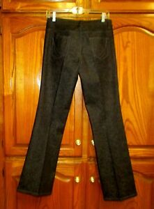 NEW THE JEANUS LOOK RANDOLPH DUKE SZ 6 X 31.25 BLACK COTTON/SPANDEX BOOT JEANS