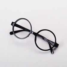Black Frame Glasses No Lens Harry Potter Cosplay Children Unisex Glasses Xmas
