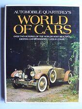 World of Cars, Automobile Quarterly, 1971, 224 Seiten, englisch