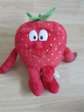 """SOPHIE THE STRAWBERRY FROM GOODNESS GANG 10"""" SOFT TOY PLUSH FROM COOP"""
