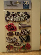 PAPER HOUSE HOME COMING 3D STICKERS BNIP *NEW*