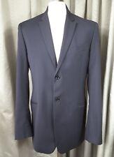 D&G DOLCE & GABBANA 100% Pure Virgin Wool Black Suit C38 W36 L34.5 EXC COND