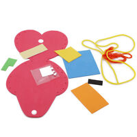 Creative Kids DIY Wallet Purse Hand Crafts Kits Puzzle Early Development Toys WA