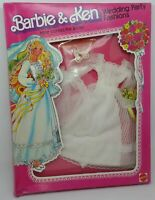 Barbie Wedding Party Fashions Here Comes Bride Vestito Sposa Vintage