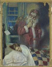 Rockwell Norman Dear Santa Claus Print 11 x 14   #3879