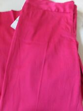 Laundry by Shelli Segal Pink Crop Pants  SZ 8 NWT $189